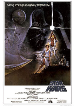 STAR WARS -  one sheet Affiche