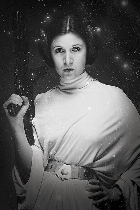 Star Wars - Princess Leia Stars Affiche