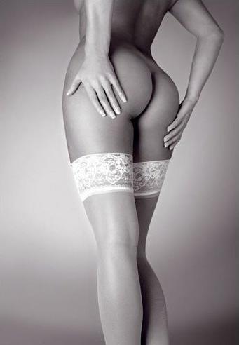 Stockings - b/w Affiche