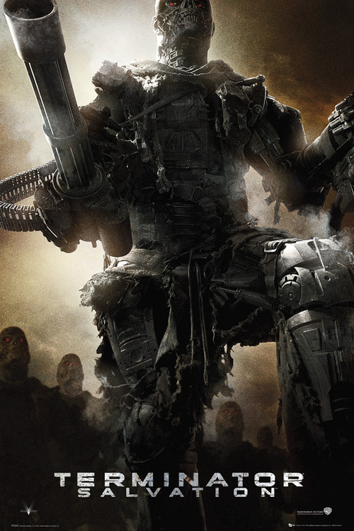 TERMINATOR SALVATION - Army Affiche
