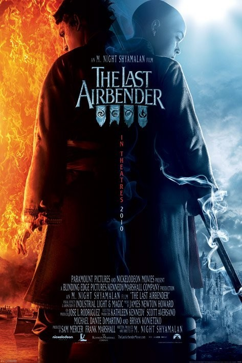 THE LAST AIRBENDER - one sheet Affiche