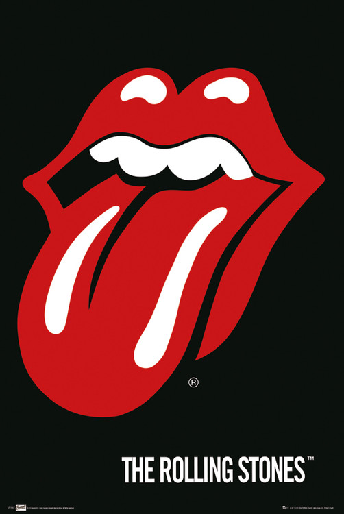 the Rolling Stones - Lips Affiche
