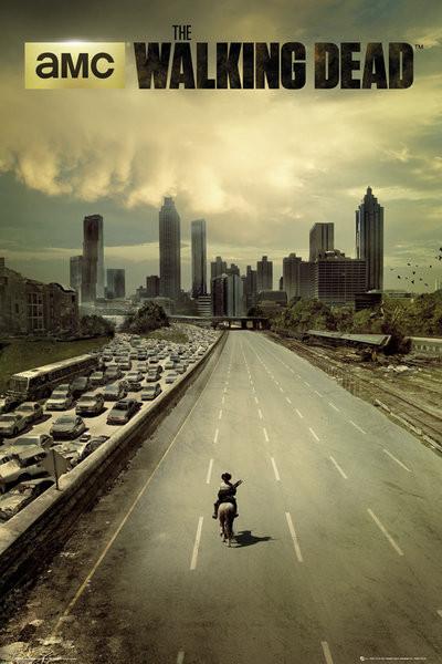THE WALKING DEAD - city Affiche