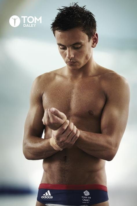 Tom Daley - trunks Affiche