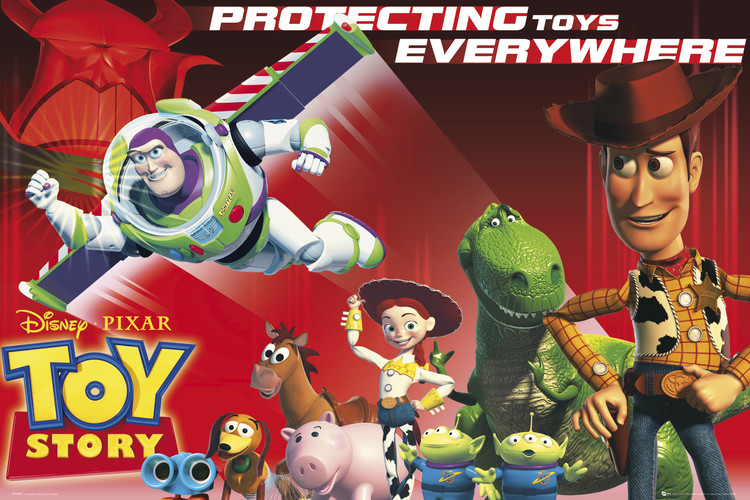 TOY STORY - protect Affiche