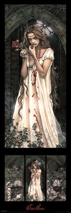 Victoria Frances - triptych Affiche