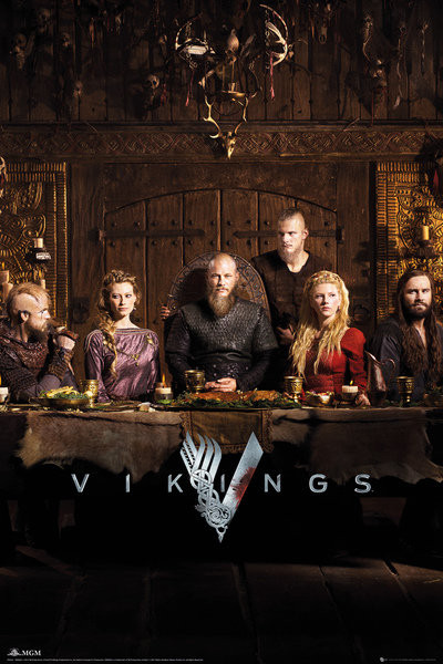 Vikings - Table Affiche