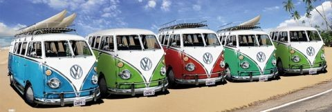 VW Volkswagen Californian Camper Affiche