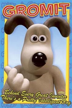 WALLACE & GROMIT - Gromit Affiche