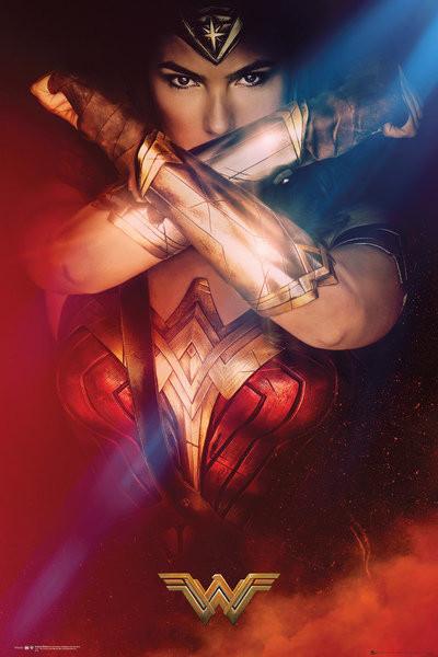 Wonder Woman - Cross Affiche