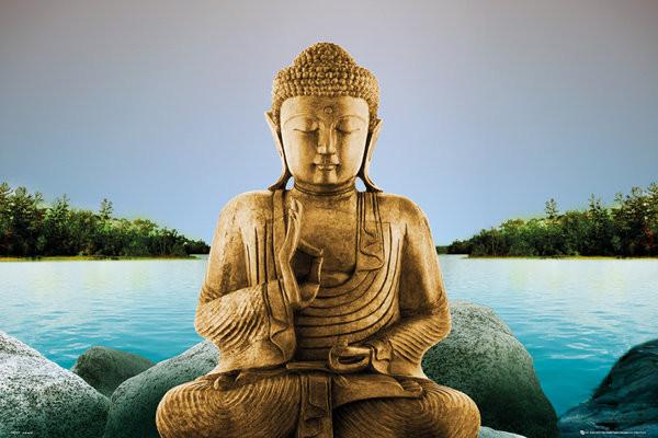 Zen - Buddha Affiche