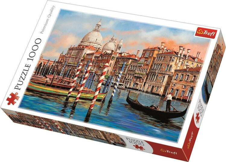 Puzzle Afternoon in venice - Canal Grande