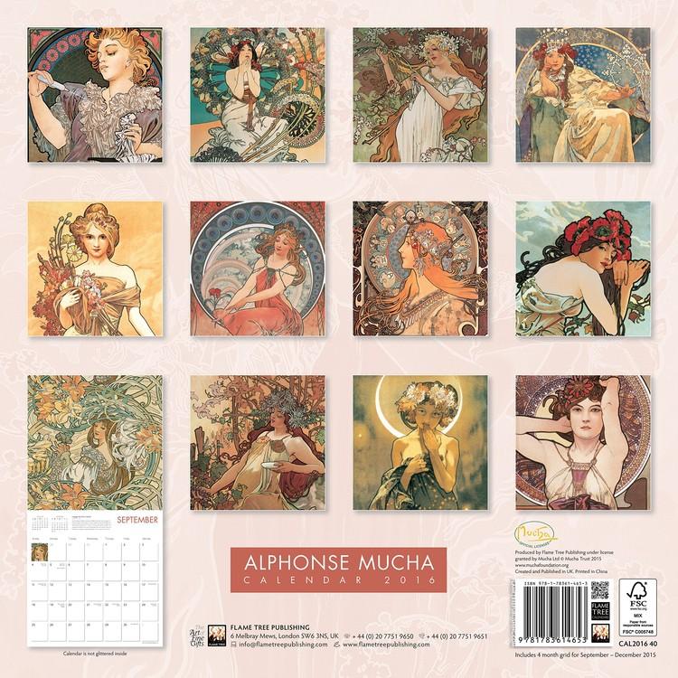 Alphonse Mucha   Wall Calendars | Large selection