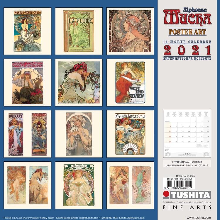 Alphonse Mucha   Poster Art   Wall Calendars | Large selection