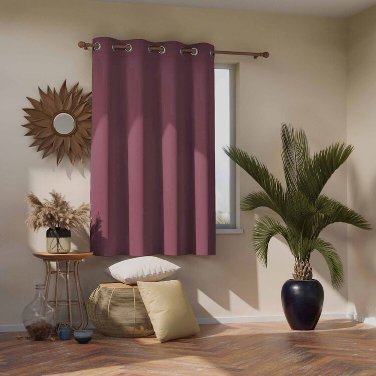Curtain Amelia Home - Blackout Mauve 1 pc
