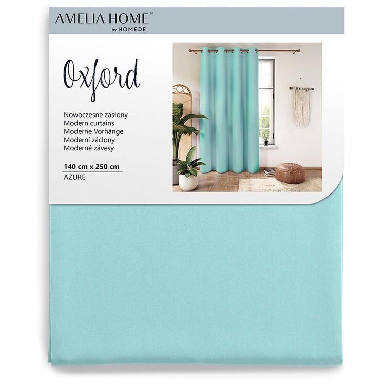 Curtain Amelia Home - Eyelets Azure 1 pc