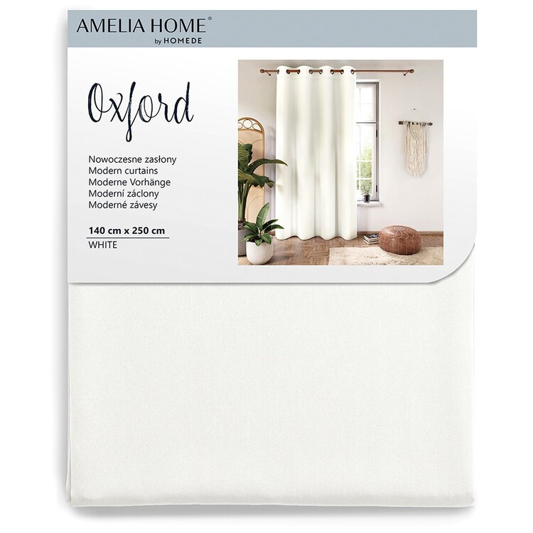 Curtain Amelia Home - Eyelets White 1 pc