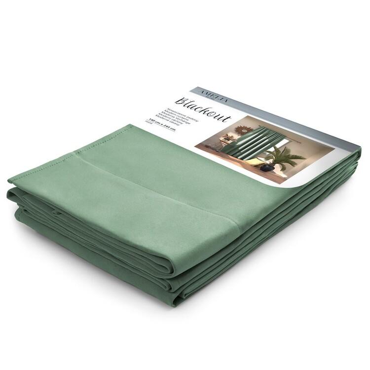 Curtain Amelia Home - Pleat Mint 1 pc