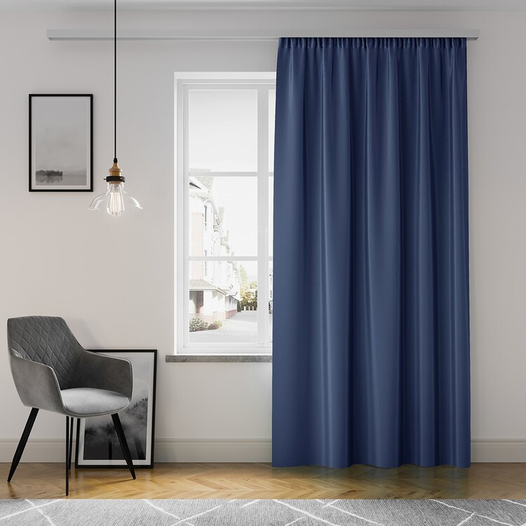 Curtain Amelia Home - Pleat Navy 1 pc