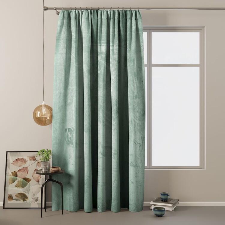Curtain Amelia Home - Velvet Mint 1 pc