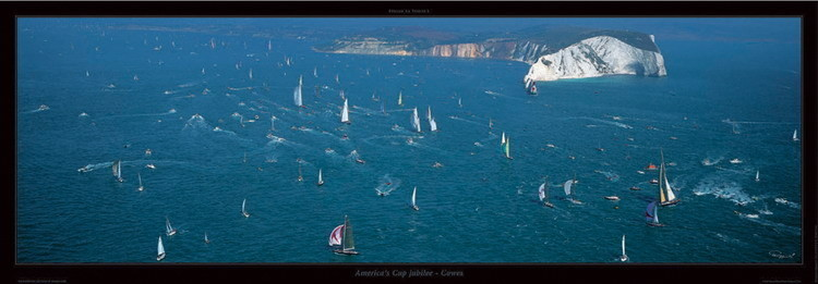America's Cup jubilee Reproduction d'art