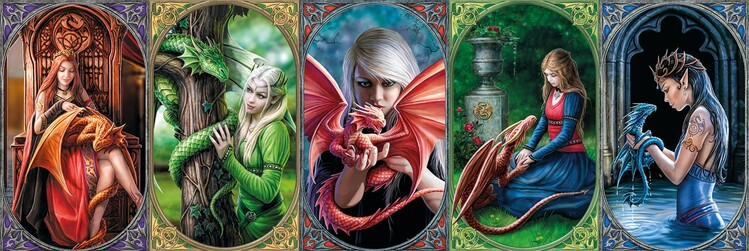 Puzzle Anne Stokes - Dragons