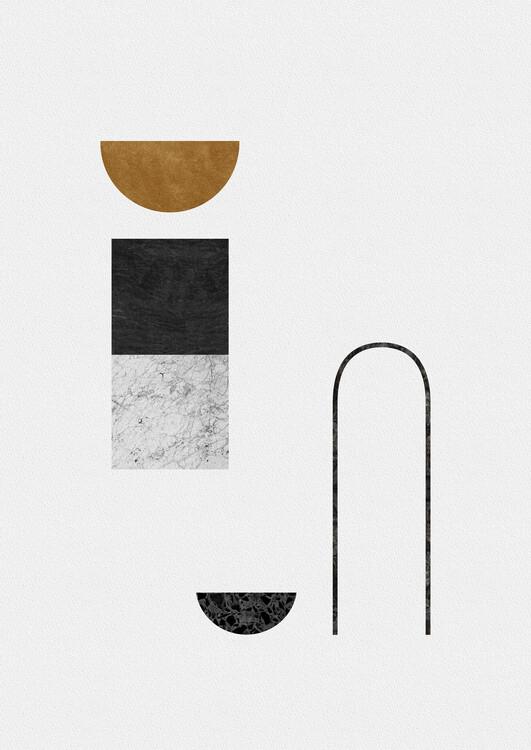 Illustration Abstract Geometric IV