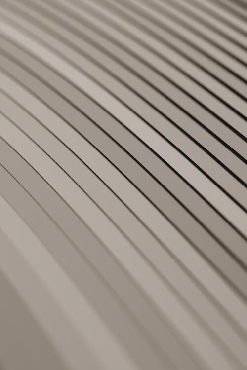 Taide valokuvaus Abstract line beige 1