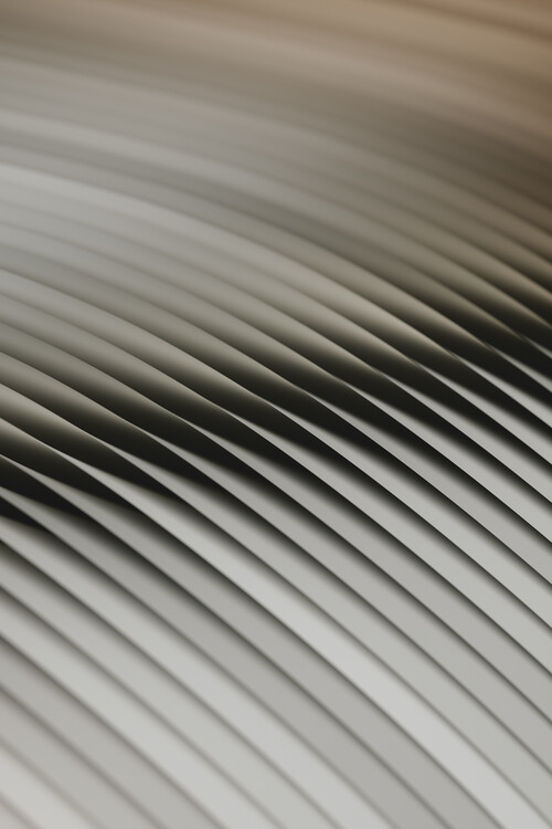 Taide valokuvaus Abstract line beige 2