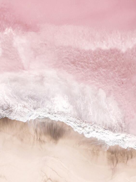 Art Photography Aerial Pink Sea