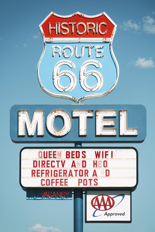 Art Photography American West - Motel 66