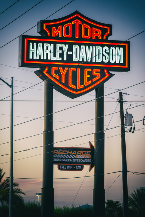 Art Photography American West - Vegas Motor Cycles