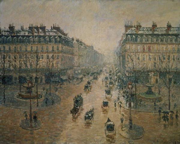 Fine Art Print Avenue de L'Opera, Paris, 1898