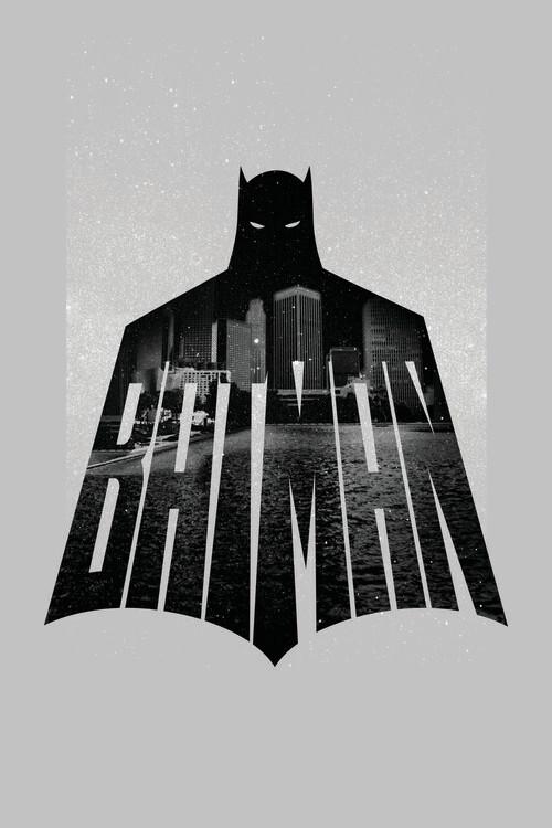 Art Poster Batman - Beauty of Flight