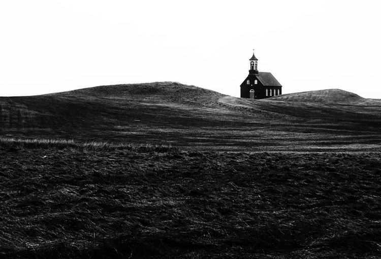 Art Photography Black chapel