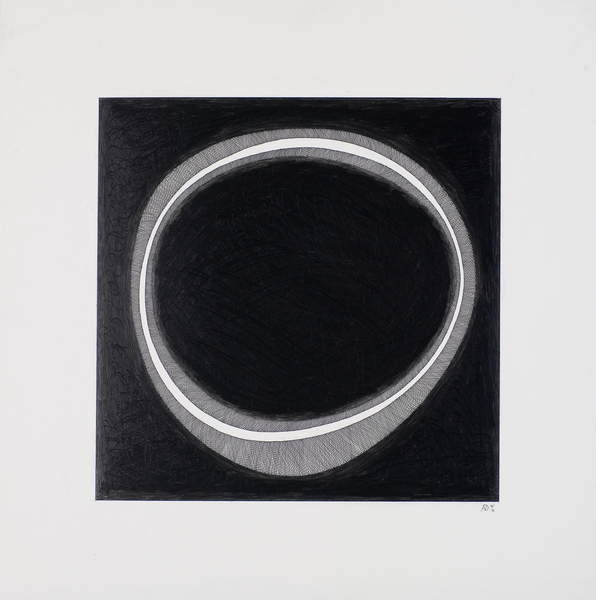 Fine Art Print Black Circle