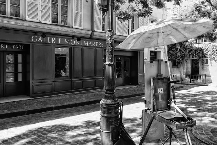 Art Photography Black Montmartre - Galerie d'Art