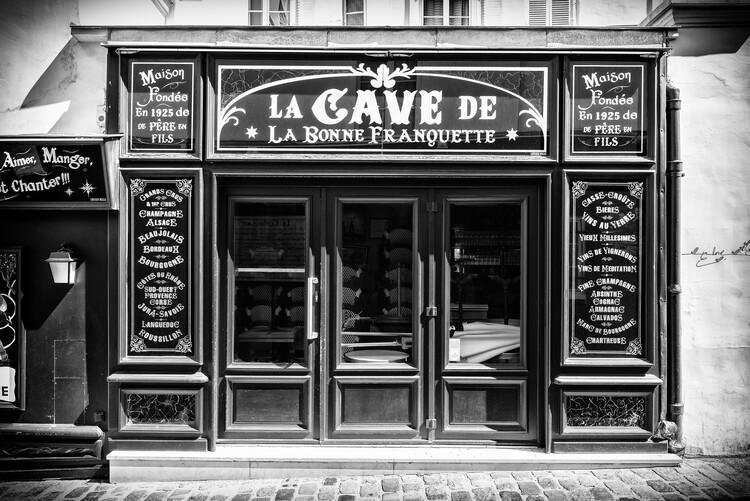 Art Photography Black Montmartre - La Cave