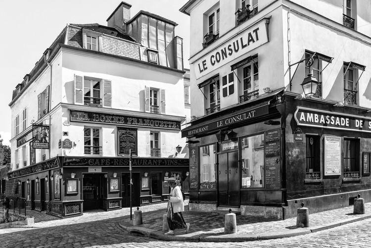 Art Photography Black Montmartre - Le Consulat