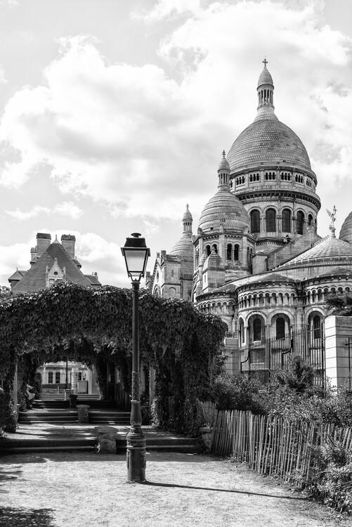 Art Photography Black Montmartre - Sacre-Coeur Basilica