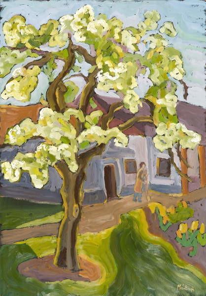 Fine Art Print Blooming Pear Tree, 2008