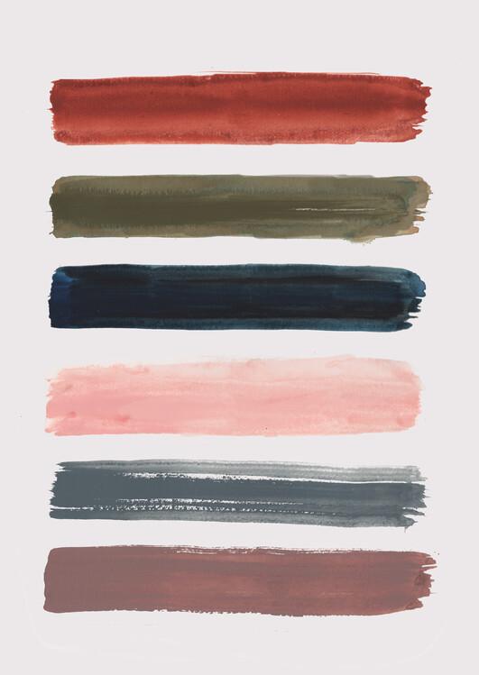 Illustration Brush strokes