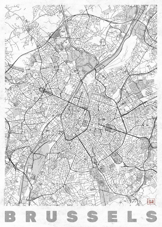 Map Brussels