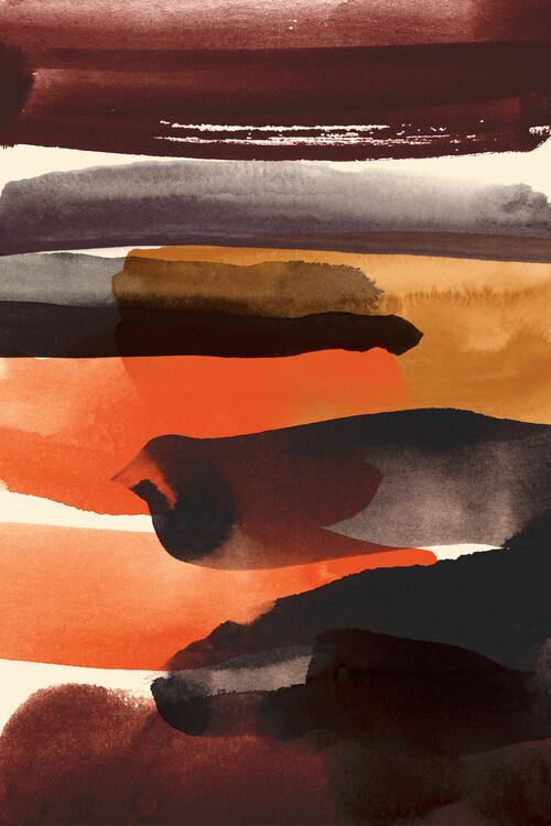 Illustration Burnt sienna