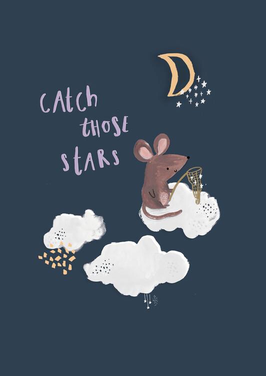 Illustration Catch those stars.