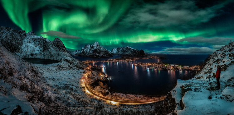 Art Photography Chasing the Northern Lights