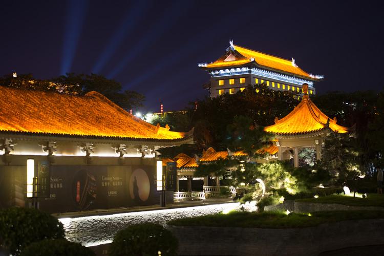 Art Photography China 10MKm2 Collection - City Night Xi'an IV