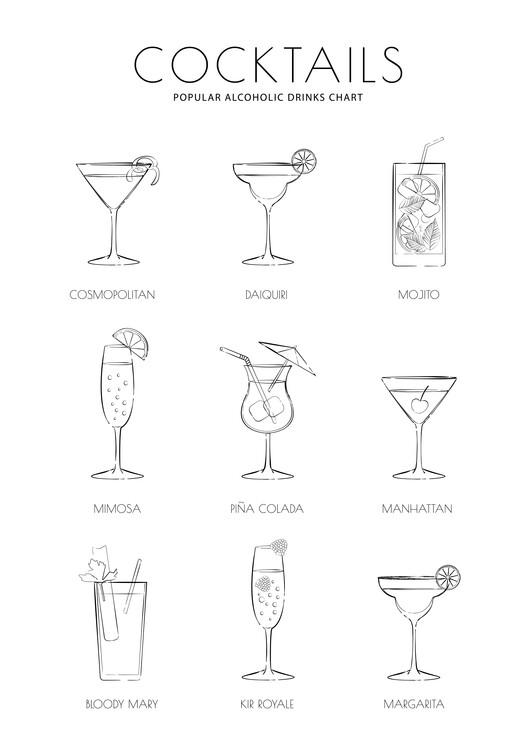Illustration Cocktails