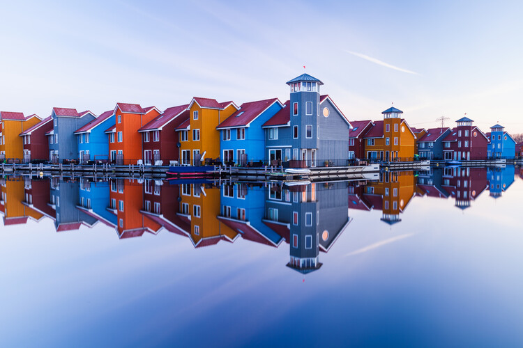 Art Photography Colored homes