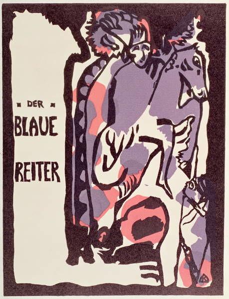 Fine Art Print Cover of Catalogue for Der Blaue Reiter